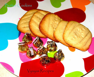 Butter Cookies - Easy Butter Cookies - With Pictures - Simple Method
