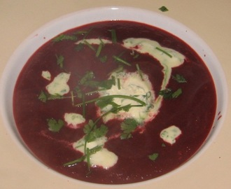 Irish Beetroot and Blackpudding soup - Irish Borsch / Irish Borscht