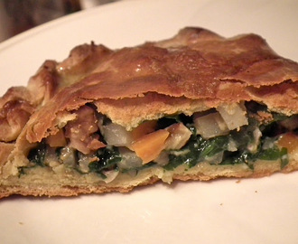 Goats cheese, spinach and walnut pasties...and Cornish ones too...