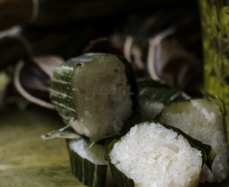 Video : Cheat Lemang/ Glutinous Rice Roll