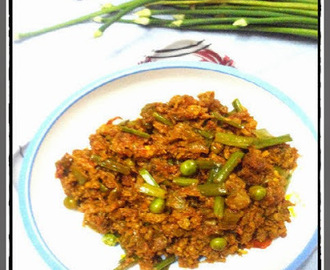 Keema Matar ~ A Classic dish perfect for winter season