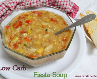 Low Carb Healthy Fiesta Soup