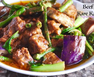 Beef Kare Kare | Filipino Stewed Beef in Peanut Butter Sauce