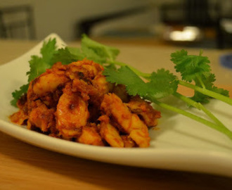 Dry tomato / Chatpata chicken