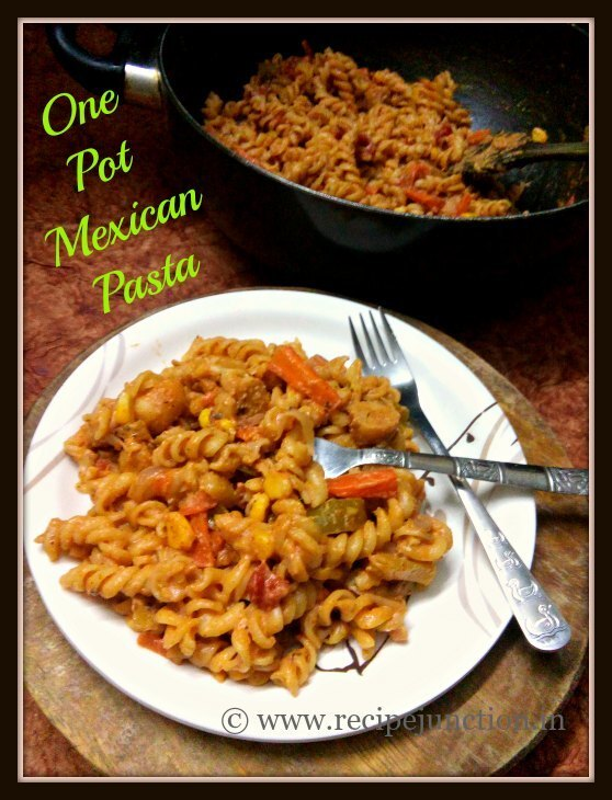 One Pot Creamy Mexican Pasta with Sausages
