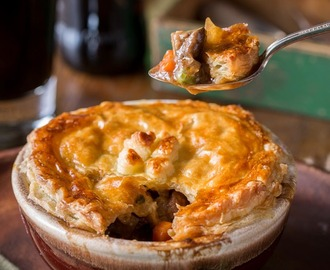 Beef and Stout Pies, Classic Irish Pub Fare