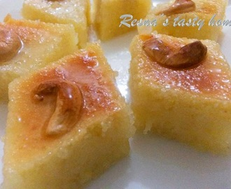 Basbousa - an Arabic sweet