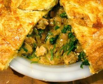 Chicken, Bacon and Spinach Pot Pie - The Daring Bakers' October 2013 Challenge
