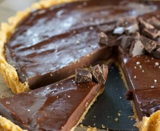 Incredibly Easy Chocolate Ganache Tart