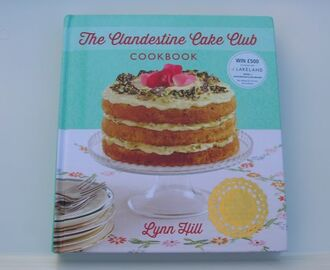 Clandestine Cake Club Cookbook at Last and Chocolate Log Blog is Four