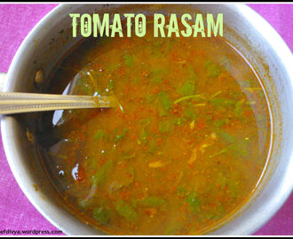 Tomato Rasam (Instant and Easy rasam- Tangy Tomato Soup)