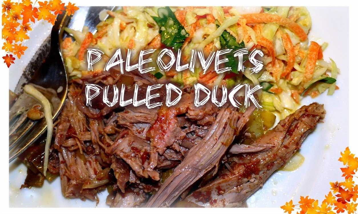 Pulled duck i stegeso
