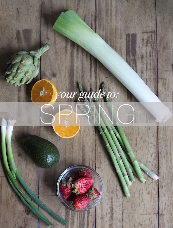 Seasonal Produce Guide for Spring