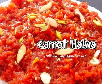 CARROT HALWA / GAJAR HALWA - EASY VIDEO RECIPE