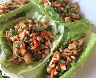 Low Carb Lettuce Wrap – Asian Chicken Style