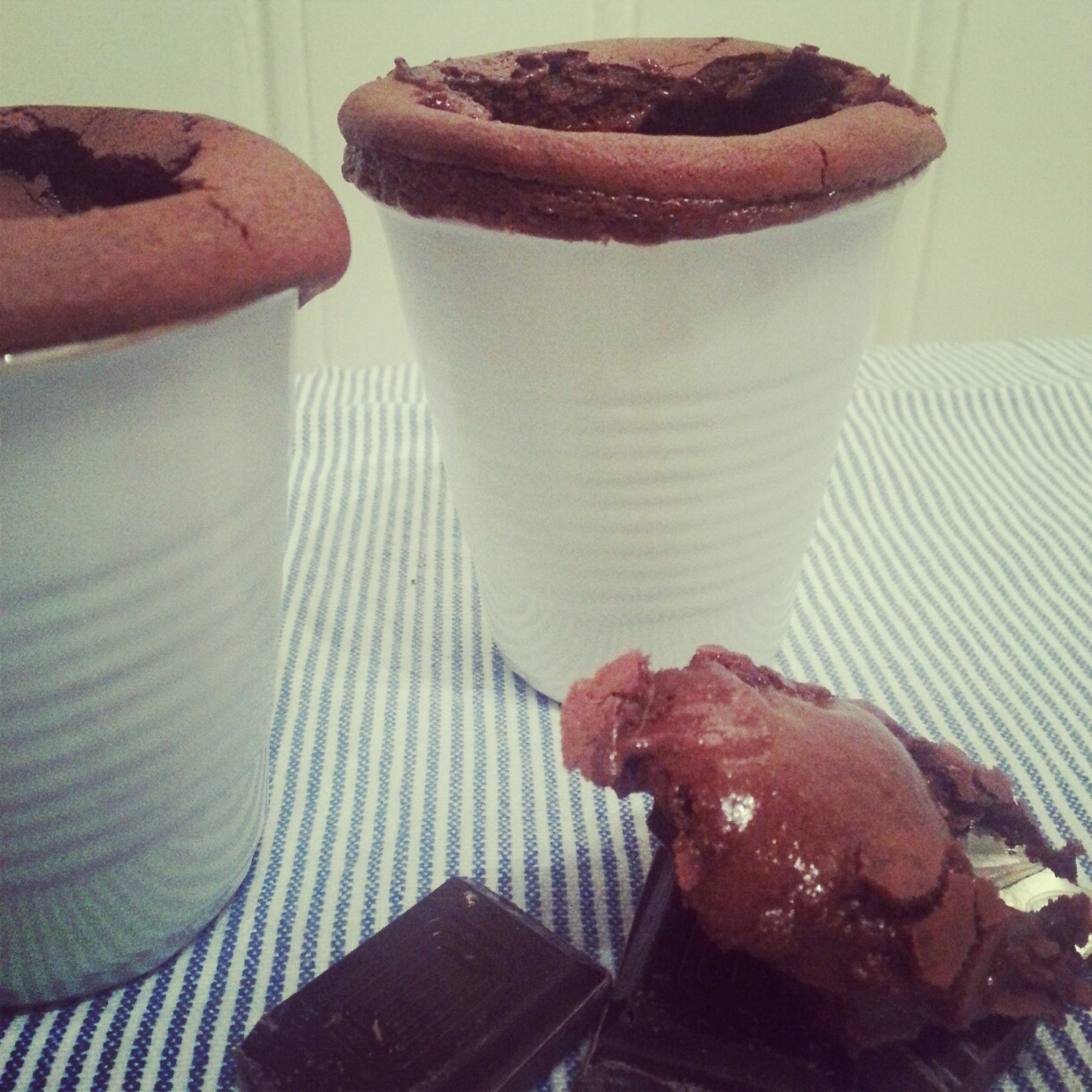 Valentine's Day Dessert: Hot Chocolate Souffle...