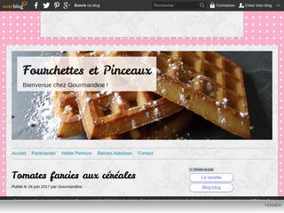 Le blog de Gourmandine
