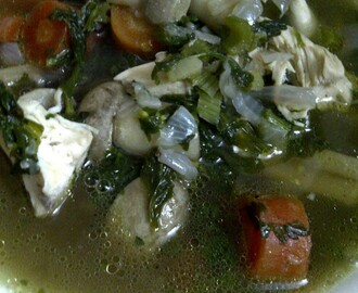 Flavourful Broth of Chicken, Vegetables & Noodles