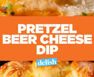 Pretzel Ring Beer Cheese Dip