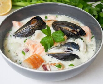 Irish fish chowder #FishFridayFoodies