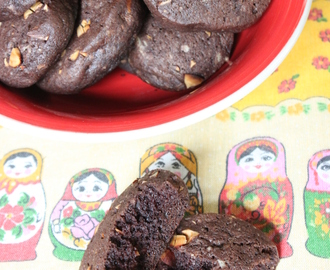 Galletitas sablé de chocolate amargo