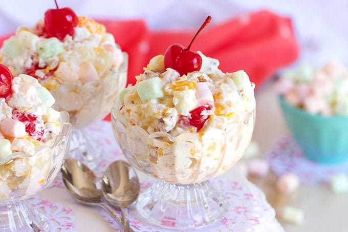 Easy Ambrosia Salad Recipe