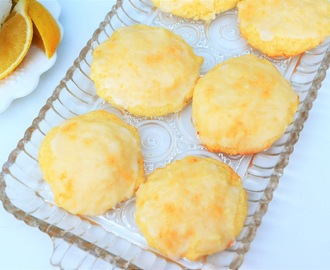 Gingered Lemon Drop Cookies