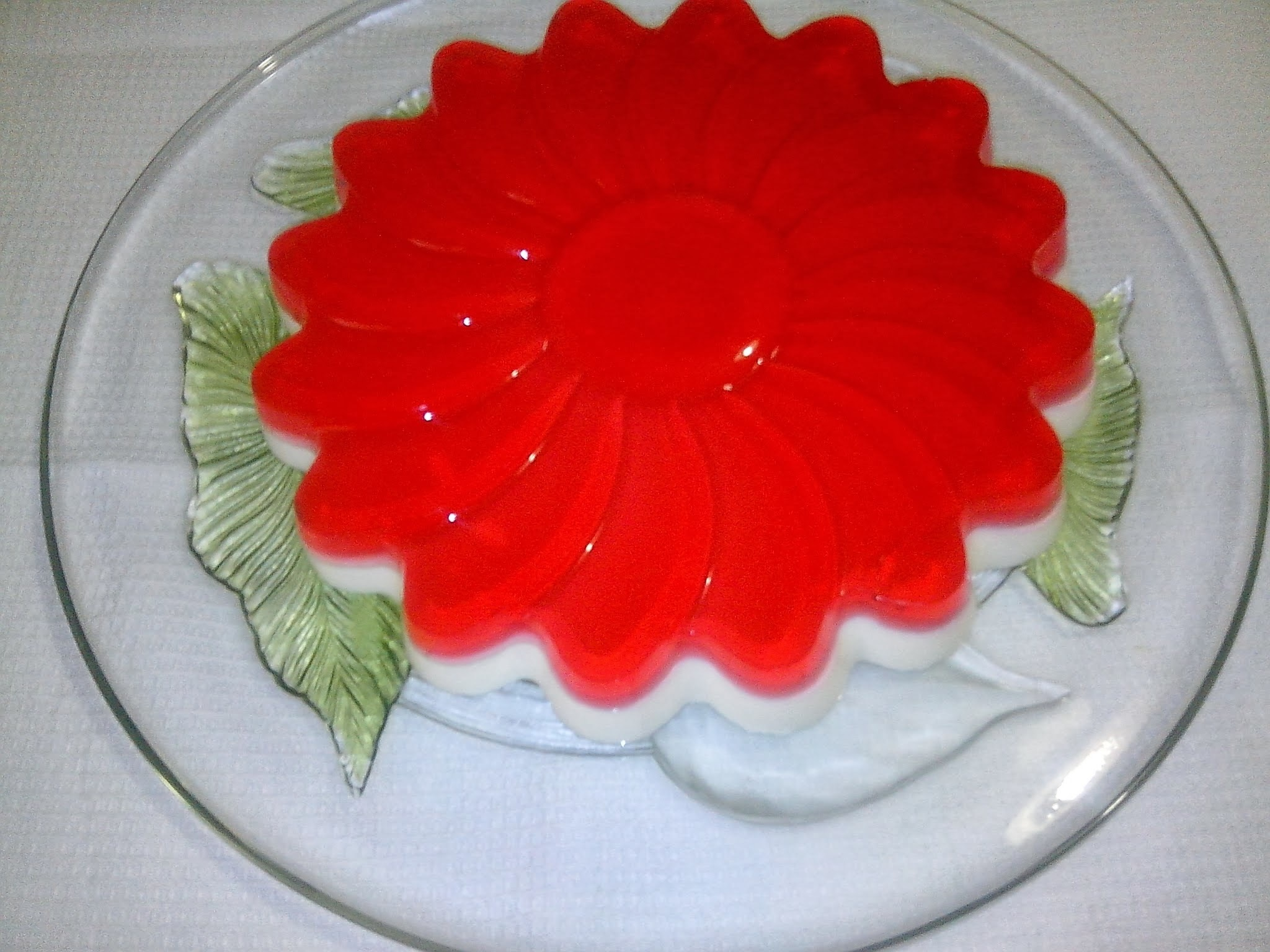 Tarta de Queso Light con Gelatina de Fresa
