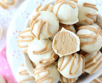White Chocolate Buckeyes