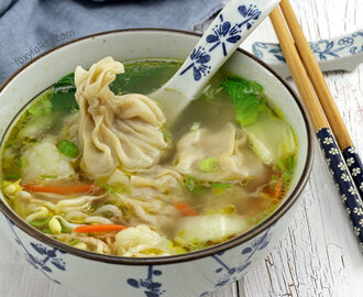 Wonton Soup Easy Recipe