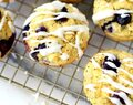 Paleo Lemon Blueberry Muffins