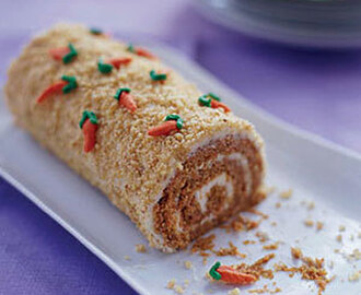 Carrot Patch Cake Roll
