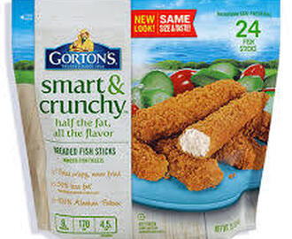 Crunchy Breaded Fish Sticks w/ Whole Grain Mac and Cheese