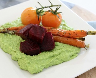 Nigella Lawson's Pea Puree in the Thermomix