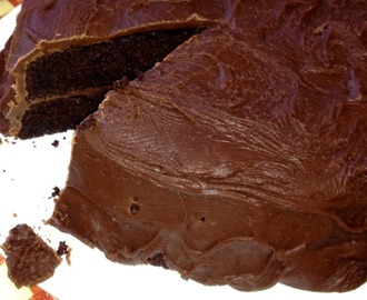 Best ever easy gluten free chocolate cake