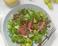 Insalata Rustica with Garlic Scape Vinaigrette