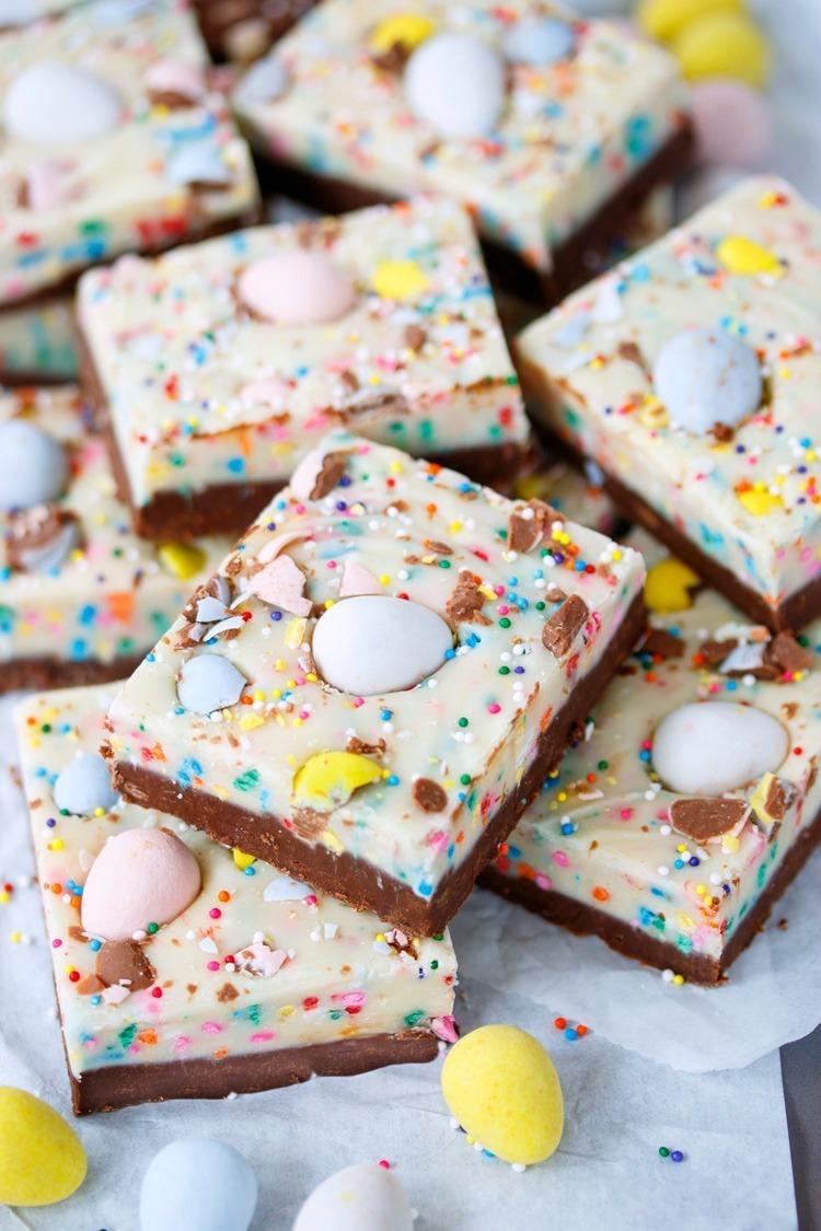 Easy Easter Egg Fudge