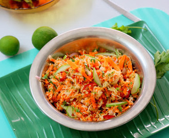 Carrot Cucumber Salad (Asian Style)