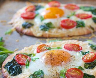 Easy Breakfast Pizza