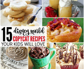 Copycat Disney World Recipes You can Make at Home