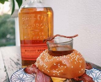 Bourbon Burger Bagel is the Scariest Fast Food Creation Yet