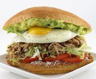 Carnitas Breakfast Tortas