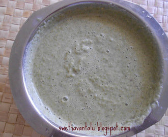 WHOLE GREEN GRAM DOSA / PESARATTU