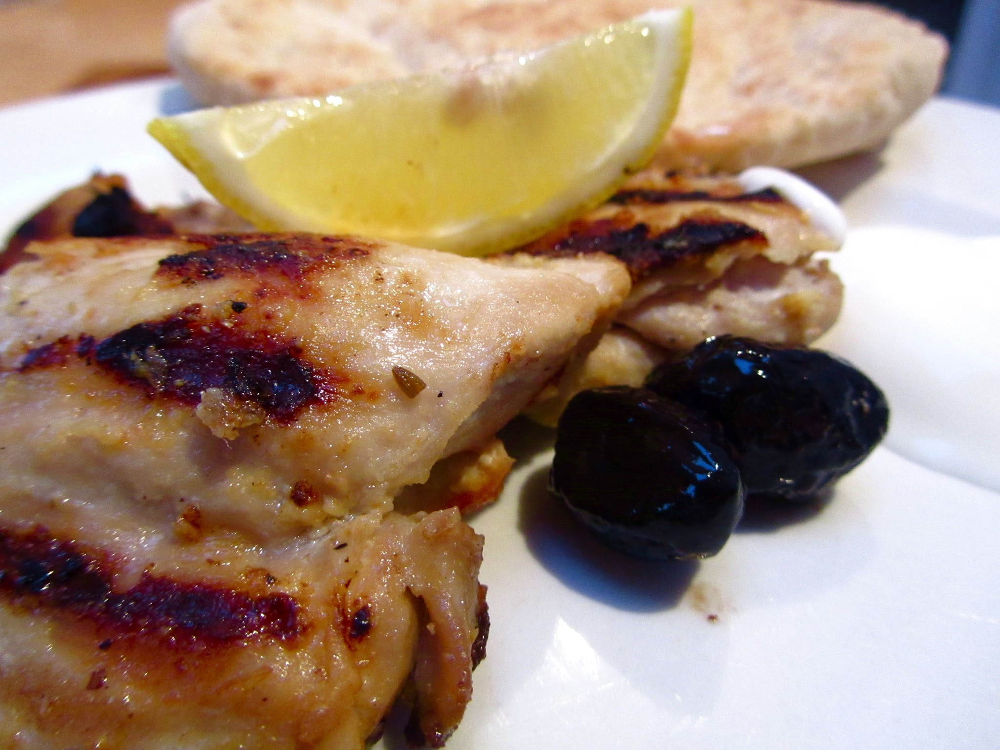 Tavuk izgara (chargrilled chicken with yoghurt and spices)