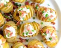 Mini Grilled Hasselback Potatoes