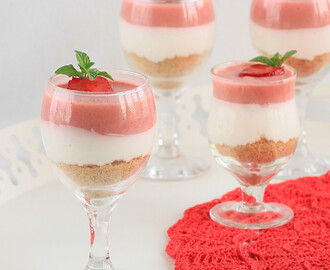 Strawberry and White Chocolate Mousse Cake Recipe