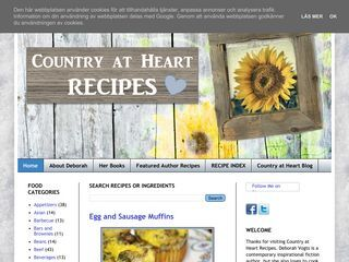 Country at Heart Recipes