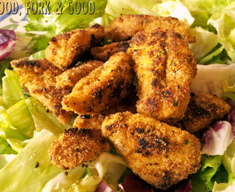 A Healthy Crispy Chicken Recipe