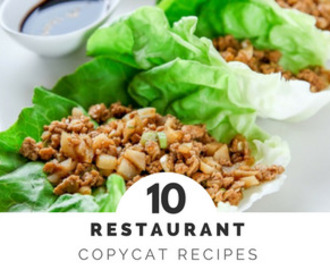 10 Delicious Restaurant Copycat Recipes