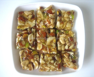 MULTINUTS CHIKKI / MIXED NUTS CHIKKI